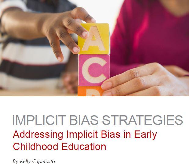 Implicit Bias Strategies in Early Childhood