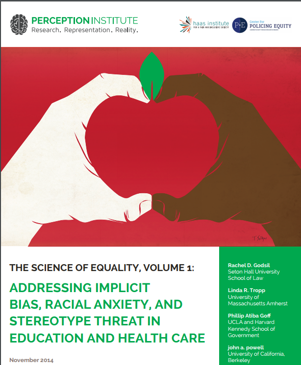 Addressing bias, anxiety, stereotype