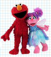 Elmo and Fairy