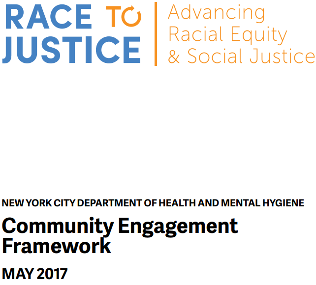 NYC DHMH Community Engagement
