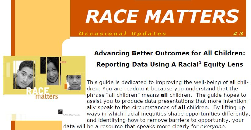 AECF Data with Race Equity Lens